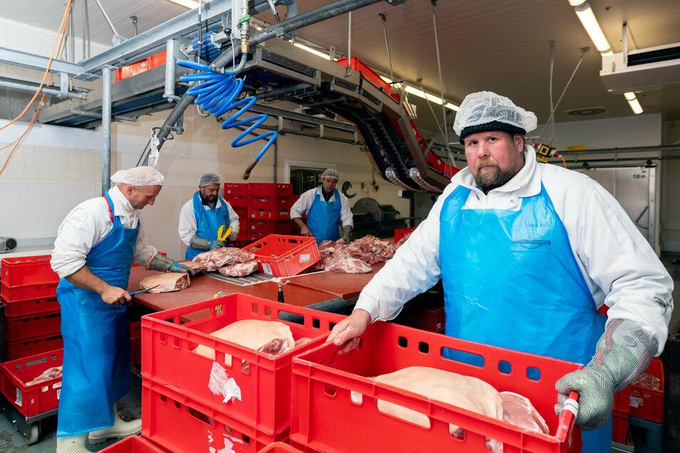 Am Familienbetrieb in Dürrröhrsdorf gehen die globalen Krisen fast spurlos vorbei.