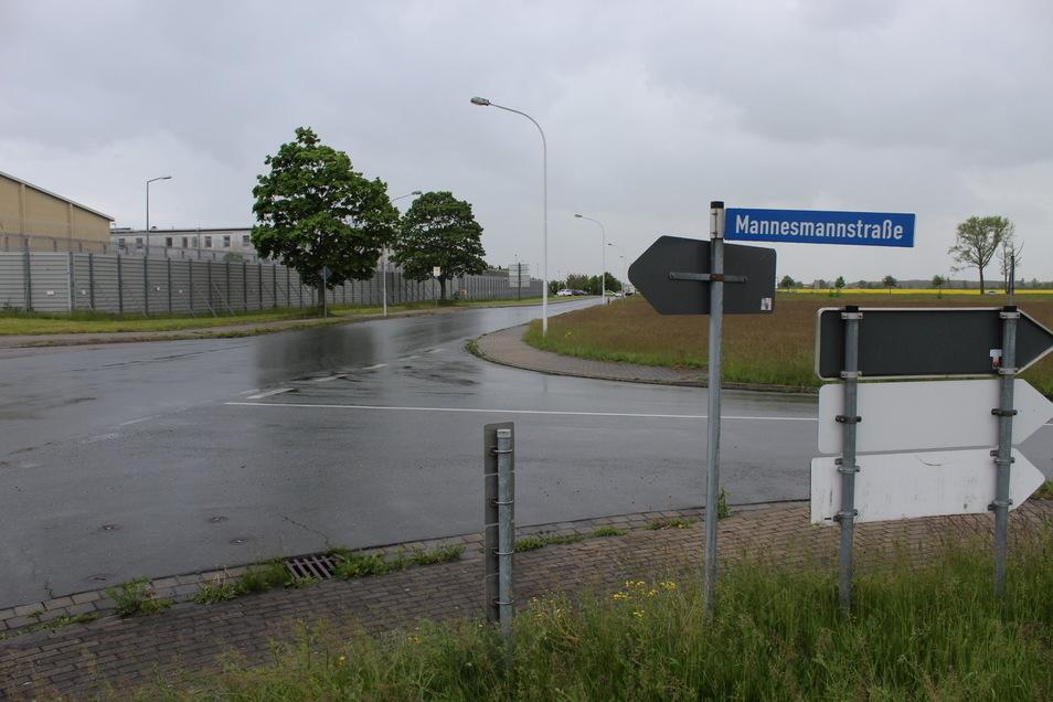 Die Mannesmannstraße (rechts) soll zurückgebaut werden.