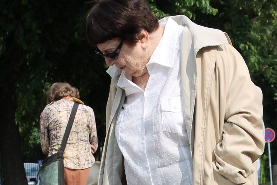 Ruth Berlowitz in Dresden.