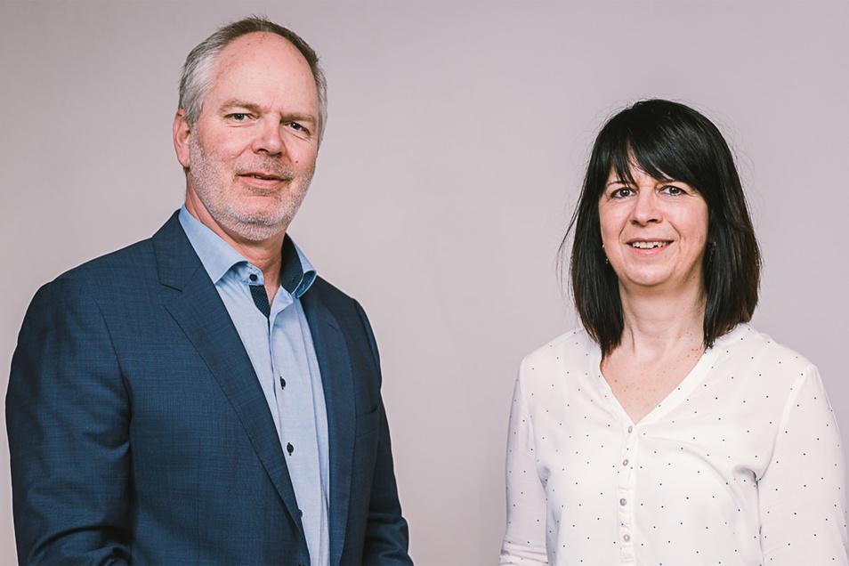 Henrik Greisner und Kerstin Gosewisch vom Görlitzer Filmbüro. Das werden sie zur Berlinale vorstellen.