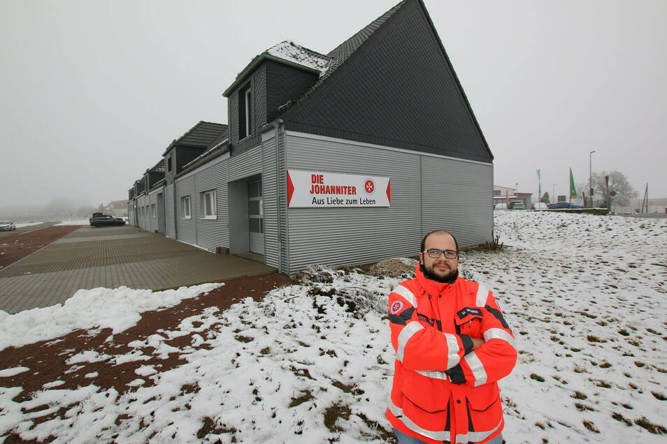 Dass am Leisniger Standort investiert wird, darüber freut sich Leiter Martin Wagner mit seinen ehrenamtlichen Helfern.