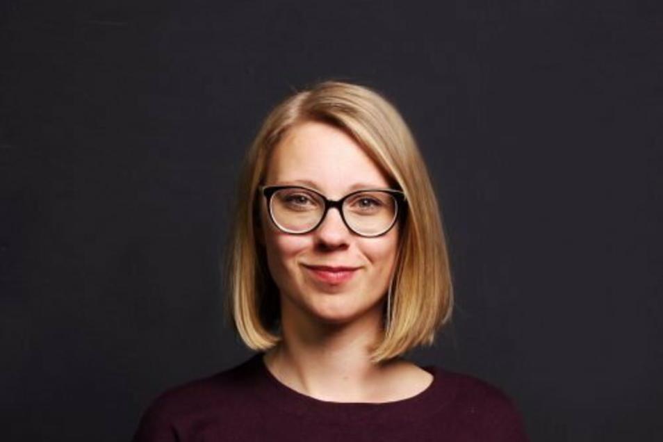 """Juliane Horn ist Leiterin der Geschäftsstelle von """"Wir gestalten Dresden"""". Der Verband möchte Dresdner Kulturschaffenden in der Corona-Zeit unter die Arme greifen."""