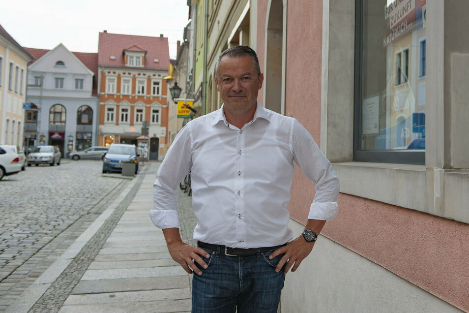"""Großenhains AfD-Landtagsabgeordneter Mario Beger übt Kritik an Kollegen: """"Mich bedrückt der Umstand, dass die Meißner Stadtratsfraktion meiner Partei ablehnungsentscheidend in Bezug auf Ihren Antrag war"""", schreibt er zum Nein für das Gästehaus an Unterneh"""