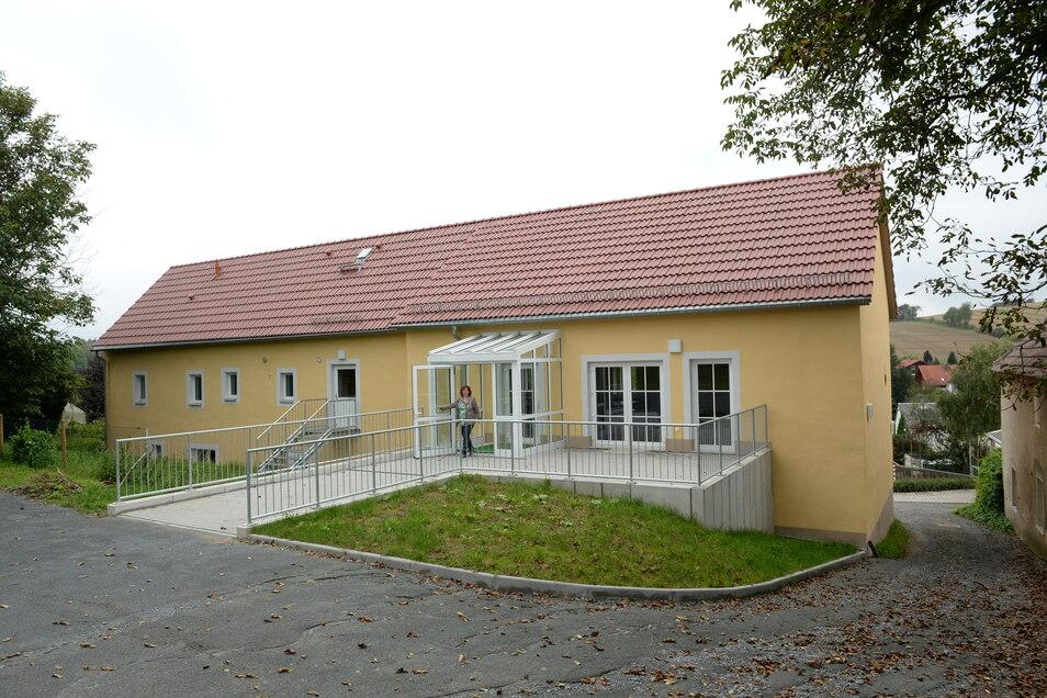 Auch die Außenanlagen des Klubhauses in Hausdorf wurden mit Geld des Leaderprogramm unterstützt.