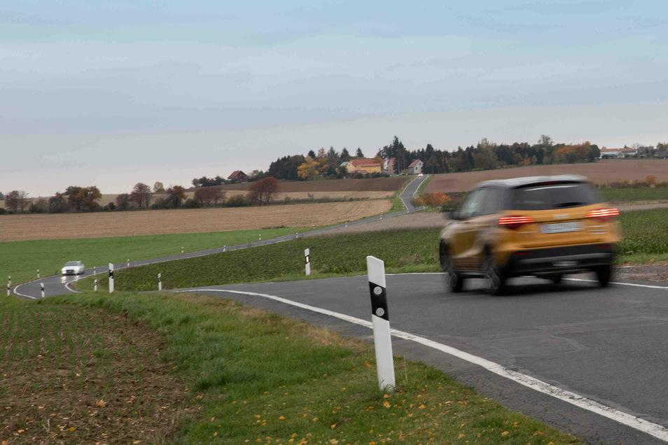 Die Kreisstraße nach Lüttewitz wird ab der kommenden Wochen instandgesetzt.