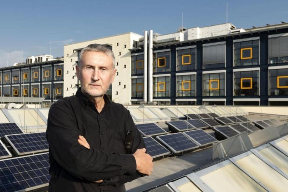 Jürgen Besold hatte viele Jahre das TGZ in Bautzen geleitet. Jetzt geht er in den Ruhestand.