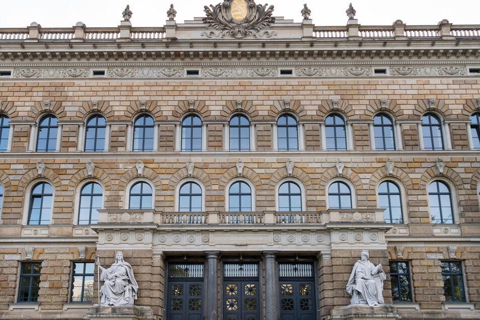 Das Dresdner Landgericht.