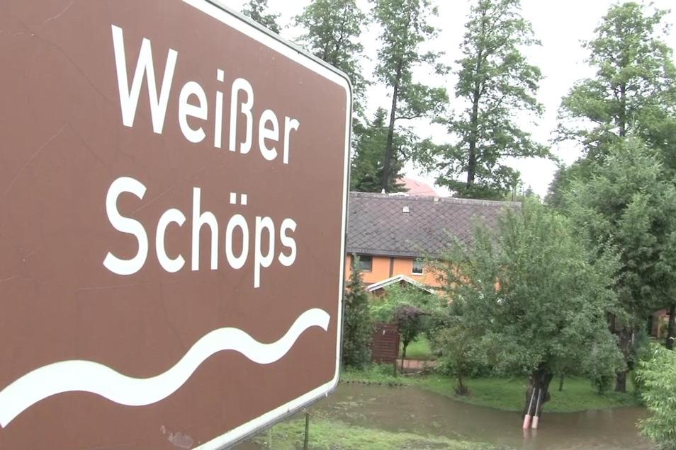 Der Weiße Schöps sorgt vor allem bei Hochwasser für Schlagzeilen. In Spree wird nun eine marode Brücke ersetzt.