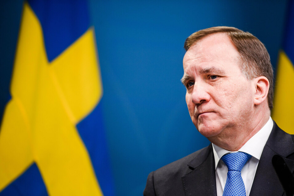 Der schwedische Premierminister Stefan Löfven.