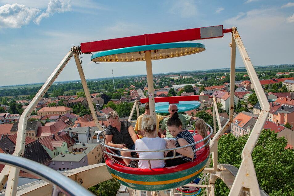 Hochfliegende Pläne, die Großenhain jetzt einen Preis bescherten. Die Röderstadt konnte mit dem Konzept des von der SZ präsentierten Einkaufssamstages am 17. Juli punkten. Herzlichen Glückwunsch!