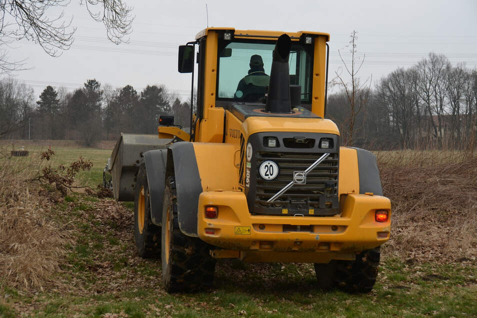 Im Moment haben es Diebesbanden gezielt auf hochwertige Baumaschinen in der Region um Riesa und Großenhain abgesehen.