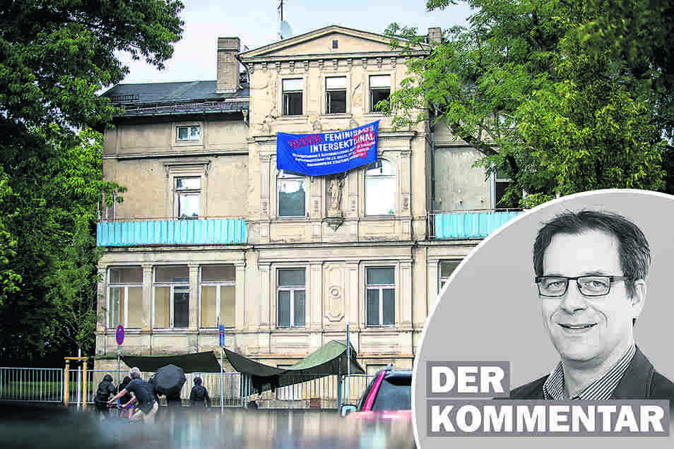 Seit Montag besetzen junge Menschen eine Villa in Dresden. Die Aktion sollte von der Politik als Chance begriffen werden, findet SZ-Redakteur Alexander Schneider.
