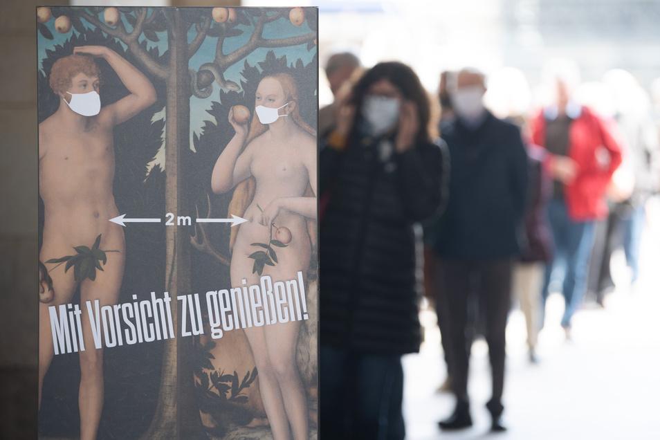Nach sieben Wochen öffnen sich die Türen der Gemäldegalerie erstmals wieder für Besucher.
