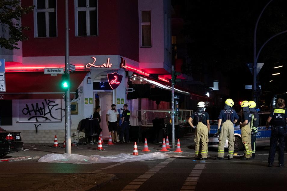 In Berlin-Wedding sind am späten Sonntagabend mehrere Schüsse gefallen.