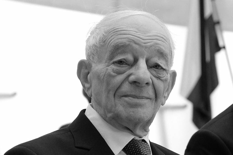 Justin Sonder überlebte Auschwitz. Nun starb er im Alter von 95 Jahren.