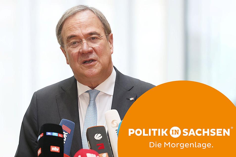 CDU-Chef Armin Laschet hat am Donnerstag seine Bereitschaft zum Rückzug angekündigt.