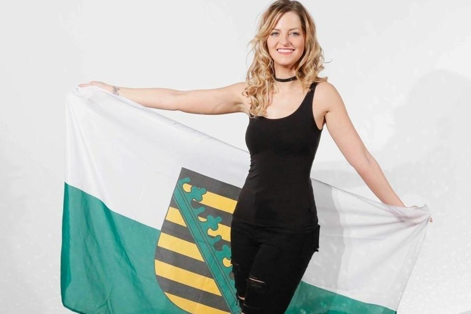 """2016 nahm Xenia von Sachsen an der Pro7-Sendung """"Deutschland tanzt"""" teil."""