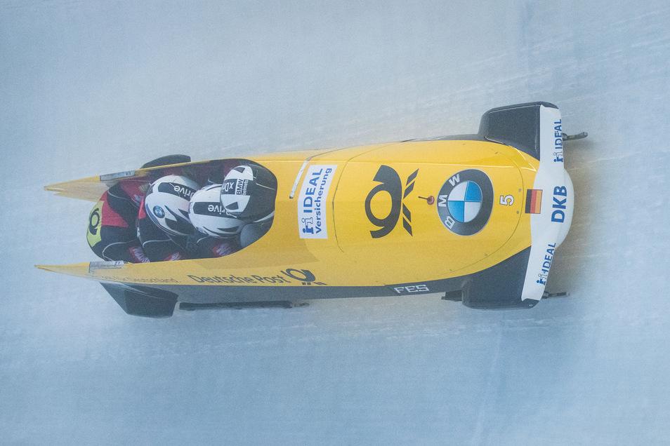 Der Altenberger Bob-Pilot Nico Walther fährt zur Heim-Weltmeisterschaft im nächsten Jahr volles Risiko – auch finanziell.