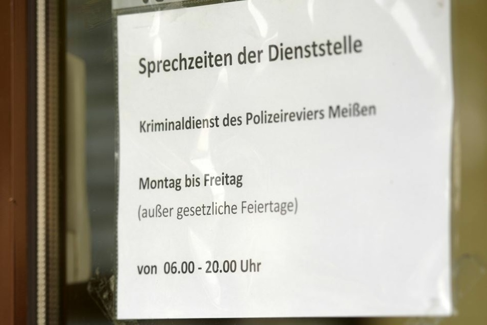 Neue Öffnungszeiten im Polizeirevier in Radebeul-Ost.