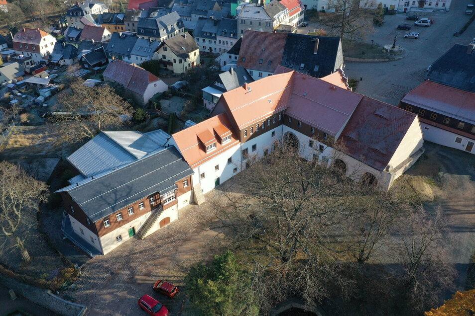 So sieht der Gebäudeteil des Wirtschaftshofes aus, der saniert wurde.