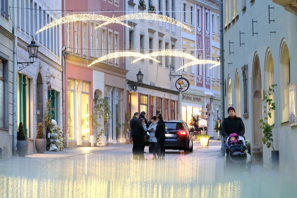 Meißen leuchtet: Seit dieser Woche erstrahlt die Festbeleuchtung in der Meißner Altstadt