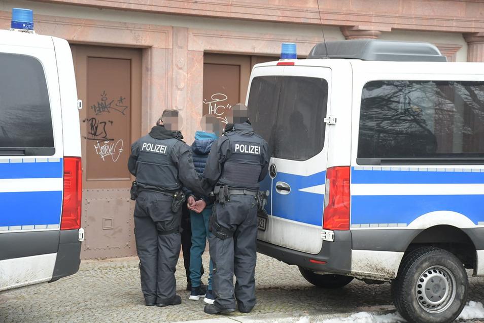 Gegen 12.45 Uhr wurde ein 40-Jähriger Litauer festgenommen.