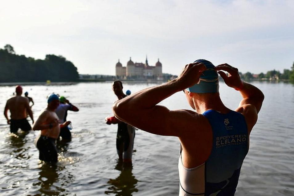 Wie bereits im Vorjahr werden auch in diesem Jahr keine Triathleten im und um den Schlossteich ihre Kräfte messen.
