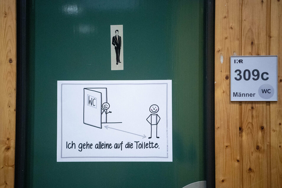 Toiletten sind im Leisniger Oberschul-Neubau Mangelware – zumindest im ersten und zweiten Obergeschoss. Um der Corona-Verordnung Rechnung zu tragen, lässt die Kommune jetzt in diesen beiden Geschossen insgesamt vier Toiletten einbauen.