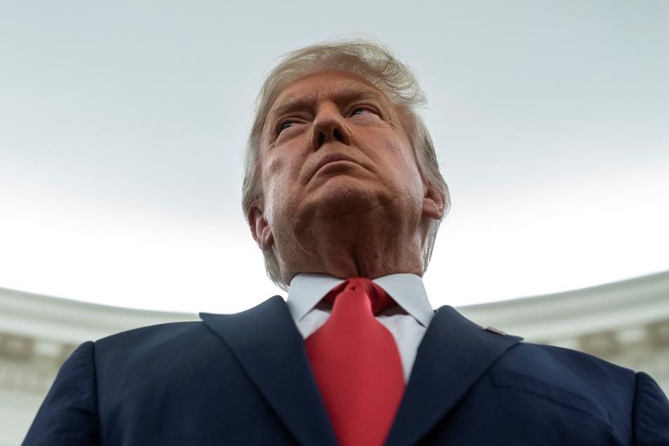 Donald Trump, Ex-Präsident der USA, hat es mit der New Yorker Staatsanwaltschaft zu tun.