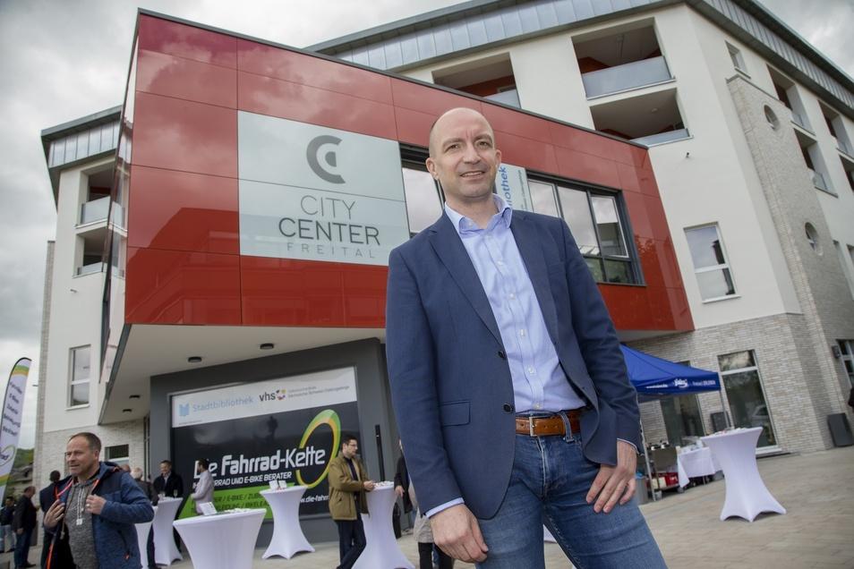 WGF-Chef Henryk Eismann investiert rund zwei Millionen Euro ins City Center Freital.