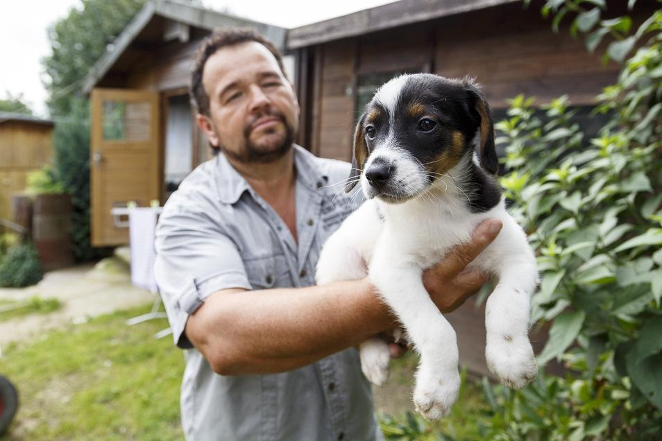 Der Görlitzer Tierheimchef Peter Vater prüft Interessenten auf Herz und Nieren, ehe er ihnen ein Tier überlässt.