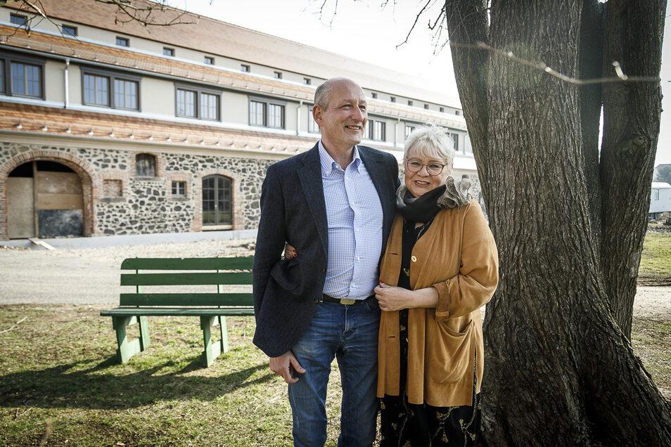 Roland Marth und Isolde Iser haben das Gut am See zu einem Landhotel ausgebaut.