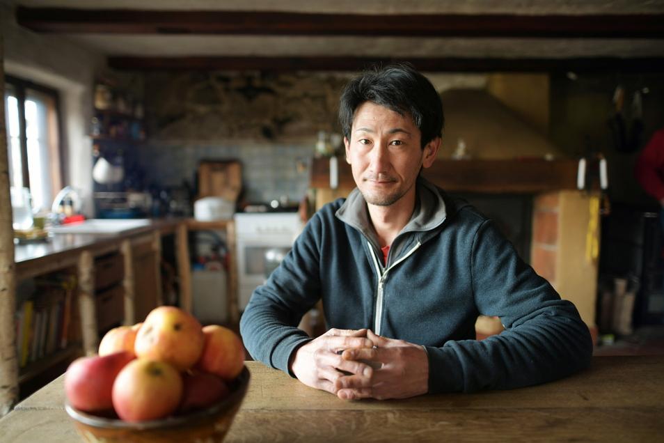 Tamito Koinuma ist ein ruhiger und überlegter Mann. In Großhennersdorf lebt er seit knapp einem halben Jahr.