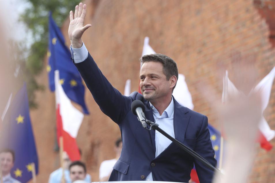 Rafal Trzaskowski, Bürgermeister von Warschau und Präsidentschaftskandidat von Polens größtem Oppositionsbündnis.