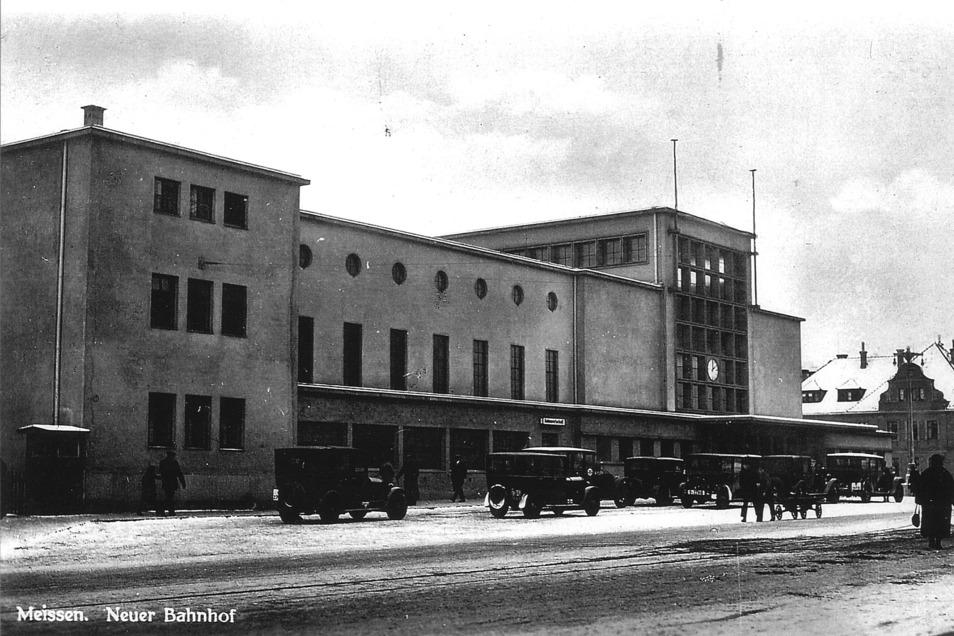 Startpunkt: Bahnhof Meißen