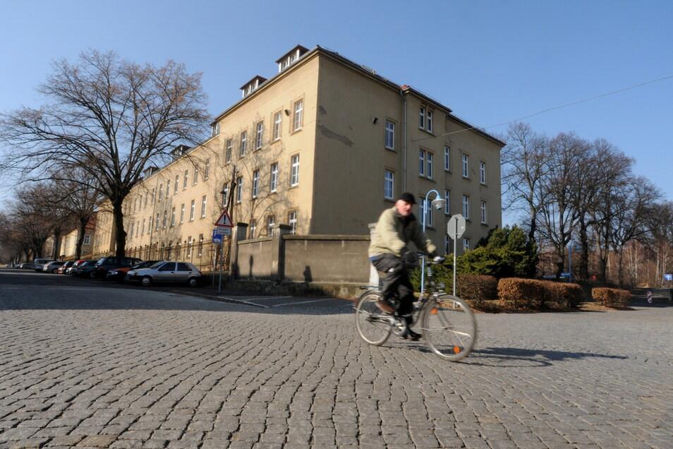 Das Asylbewerberheim an der Zittauer Sachsenstraße.