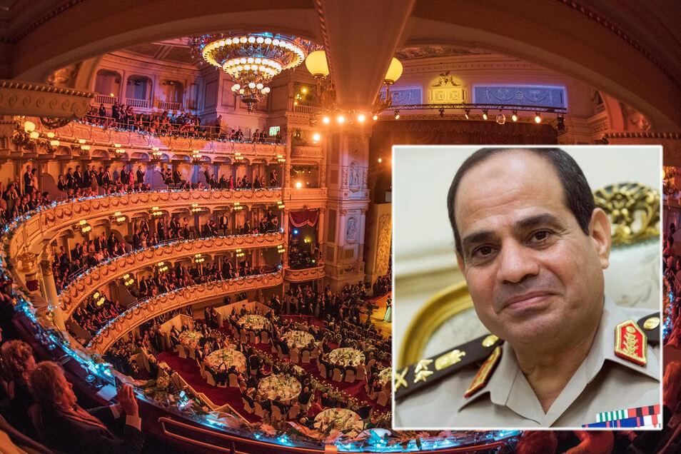 Die Verleihung  des  St. Georgs Orden an den ägyptischen Präsidenten sorgt für Unverständnis und Kritik.