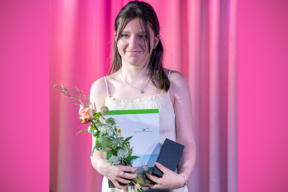 Matild Hentschel: So einen guten Abschluss hatte ich von mir gar nicht erwartet.