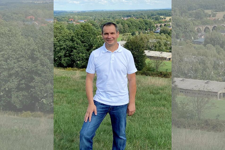 Patrik Eisold (48) tritt als Einzelbewerber an. Der Diplom-Betriebswirt brauchte für seine Kandidatur mindestens 40 Unterstützungsunterschriften. 56 hat er bekommen.