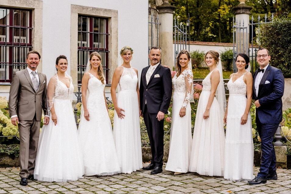 Wer traut sich? Die 11. Hochzeitsmesse Freital findet am Sonntag auf Schloss Burgk statt.