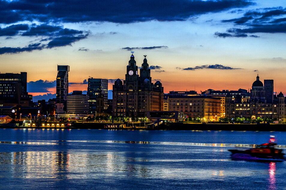 Blick auf das Liverpooler Hafenviertel. Weil es seinen ursprünglichen Charakter verloren habe, hat es die Unesco von der Weltkulturerbeliste gestrichen. entzogen.