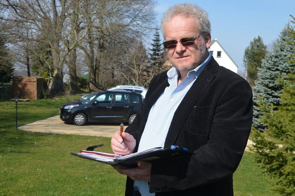 Hans Ulrich Hinner will ein Netzwerk aufbauen, um Personalengpässe zu lösen und Hilfe anzubieten.