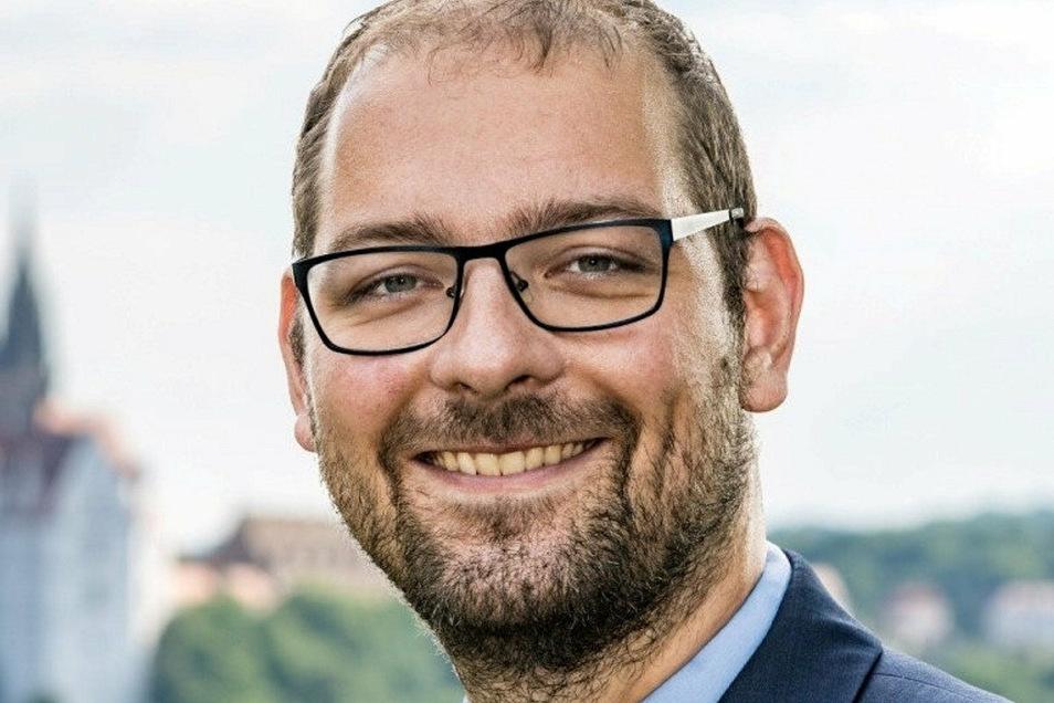 Martin Bahrmann (FDP) ist Chef der Großfraktion im Meißner Stadtrat, die sich aus CDU, FDP, Freien Bürgern und U.L.M. bildet. Er arbeitet als Geschäftsführer der Euro-Schulen in Meißen.