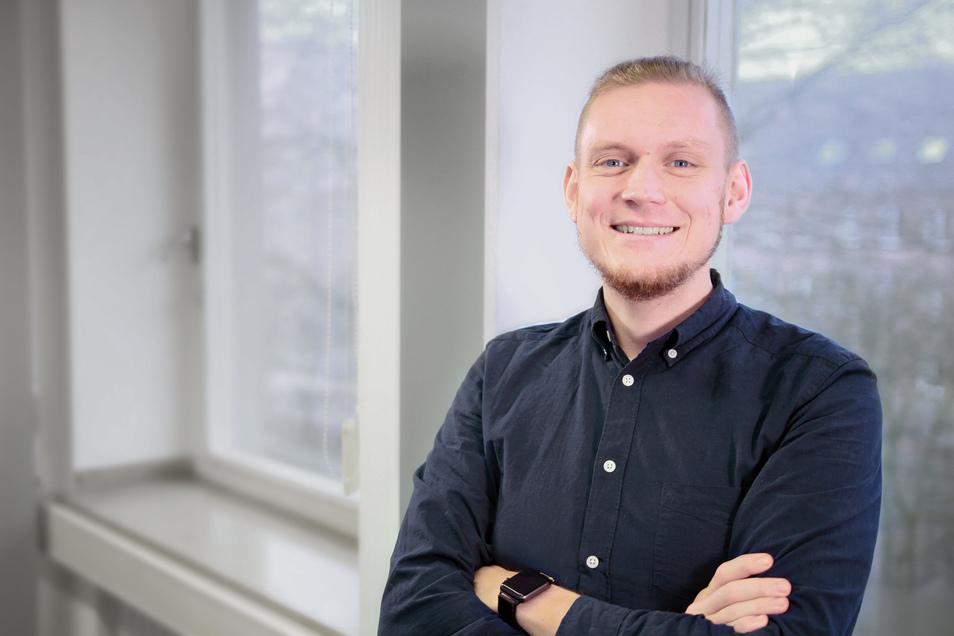 Der Kommunikationswissenschaftler Tim Schatto-Eckrodt promoviert an der Westfälischen Wilhelms-Universität Münster über Falschinformationen im Internet.