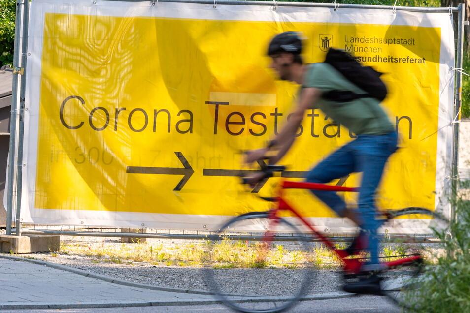 Bei den Corona-Tests ist innerhalb von 24 Stunden nur ein positiver registriert worden.