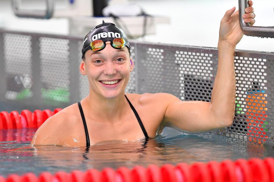 Den Besuch in der Heimat nutzte Leonie Kullmann auch zum Training.