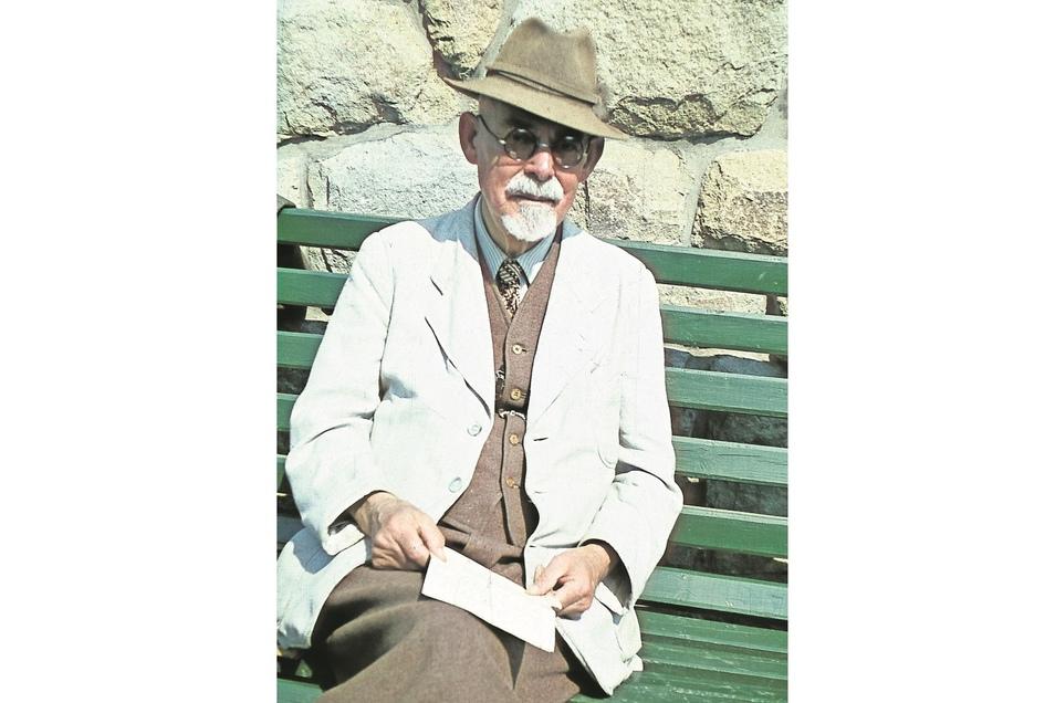 Das Foto zeigt Camillo Schneidenbach im Jahr 1937.