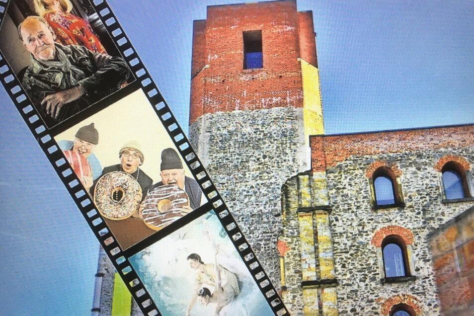 Es soll im Sommer wieder Kino Open-Air am Großenhainer Schloss geben.