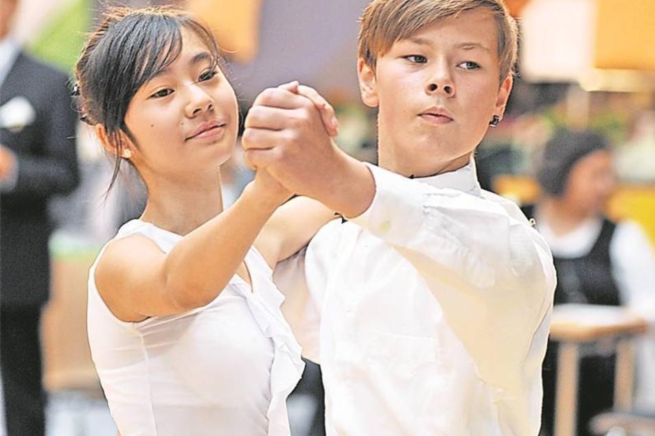 Das Tanzturnier ist eine feste Größe in der HarthArena.
