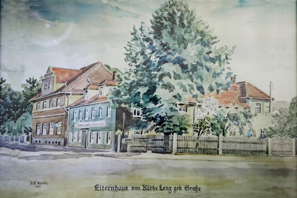 """Mehr als 100 Jahre ist die Gaststätte und Pension """"Zum Bürgergarten"""" schon alt."""